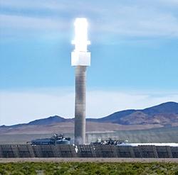 Crescent Dunes Solar Tower