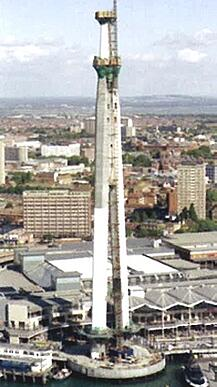Spinnaker Tower Support Leg Construction