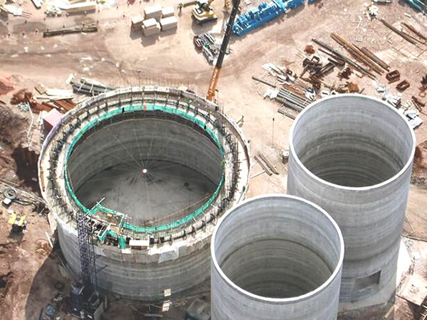 Construction of Silos