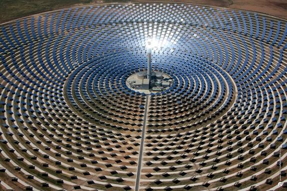 solar ttower design