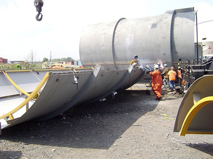 Steel Chimney Field Erection Services