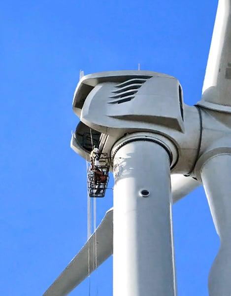 wind towers turbine